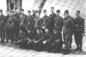 Visite des Imams SS de la 13ème SS Division Handschar à Berlin en juillet 1943.