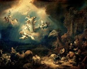 Flinck : l'annonce faite aux bergers. 1639