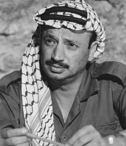 Yasser Arafat dans les années 70