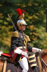 Chef d'Escadron du Régiment de Cavalerie de la Garde Républicaine, Fête Nationale, 2007