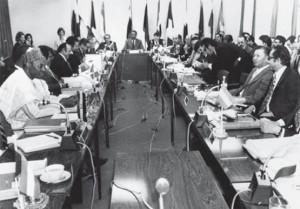 Réunion de l'OPEP 1973 au Koweit
