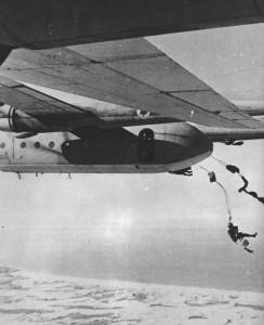 Opération aéroportée israélienne depuis un Nord 2501 Noratlas