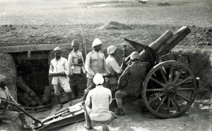 Obusier turc de 105 mm 1917