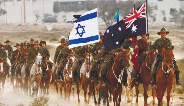 Reconstitution de la Bataille de Beersheva en 2012 par la Australian Light Horse Association