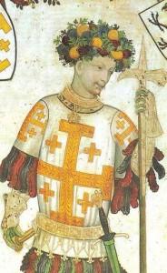 Godefroi IV de Boulogne, dit Godefroi de Bouillon, conquérant de Jérusalem en 1099