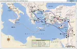 34404 140-4 BIBLE MAP