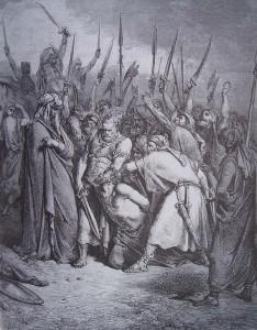 Samuel fait mettre à mort Agag - Gustave Doré