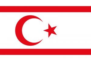 Drapeau de la République Turque de Chypre du Nord