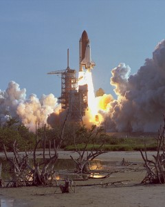 STS-41 D sur Discovery, première mission de Judith Resnik